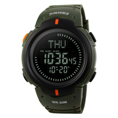 Time United States Waterproof Compass Men'S Outdoor Sports Electronic Watch