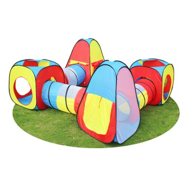 Toy 8 in 1 play tent and tunnels