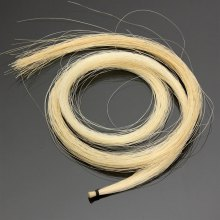 White Professional Violin Bow Hair Mongolian
