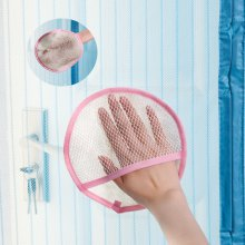 Screen door curtain cleaning cloth Water absorbent cloth Household gauze Dust glove and thick clean towel
