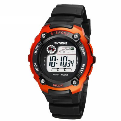 LED Digital Children Watch Kids Watches Girl Boy Clock Electronic Sport Wristwatch