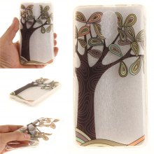 Cover Case for Lenovo Vibe P1M Hand Draw A Tree Soft Clear IMD TPU Phone Casing Mobile Smartphone