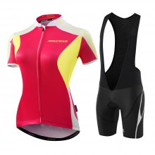 Malciklo 2018 Summer Cycling Jersey Bib Tights Woman Short Bike Compression Suits Quick Dry