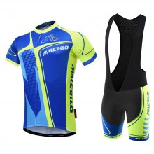 Malciklo 2018 Summer Men Cycling Jersey Bib Tights Short Rompers Bike Compression Suits Quick Dry