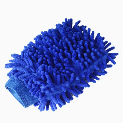 Ultimate Car Wash Mitt - 2 pack Extra Large Size - Premium Chenille Microfiber Wash Mitt - Wash Glove