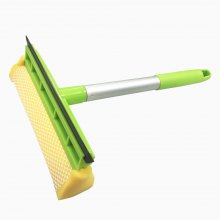 Double cleaning window scrubbing scrubber and professional window scrubbing vehicle glass cleaner (handheld scraper)