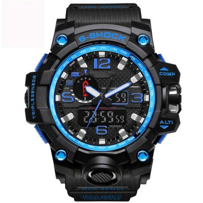 Mens Sports Watches LED Digital Clock Fashion Casual Watch Digital 1545 Relogio Militar Clock Men Sport Watch