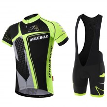 Malciklo 2018 new products Summer Men Cycling Jersey Bib Tights Short Rompers Bike Compression Suits Quick Dry