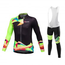 Malciklo 2018 new products Spring And Autumn Season Cycling Jersey Bib Tights Men Long Rompers Bike Compression Suits Q