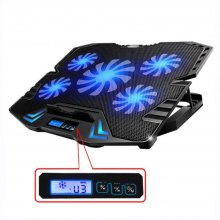 Cooling Pad for Laptop Notebook LED Touch Screen Speed Control Cooler for Notebook