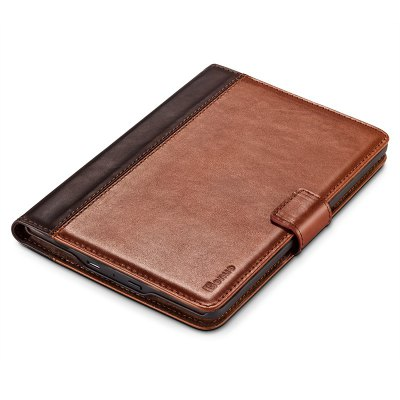 Benuo for Kindle Paperwhite Case Classic Vintage Genuine Leather Case 2 Card Slots Protective Flip Folio Cover