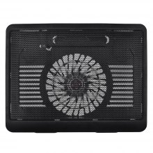 Laptop Cooling Fan for 11 To 15 Laptop Cooling Pad Cooling Base Black