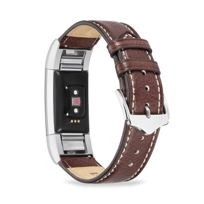 Benuo for Fitbit Charge 2 Genuine Leather Replacements 42mm