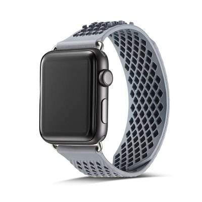 Innovative Free Adjustable Soft Silicon Watch Bands for Apple Watch 38mm Series 1/2/3