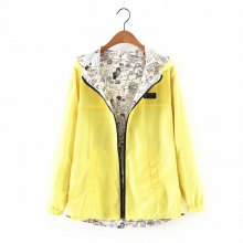New products gadgets Zipper on Both Sides Coat