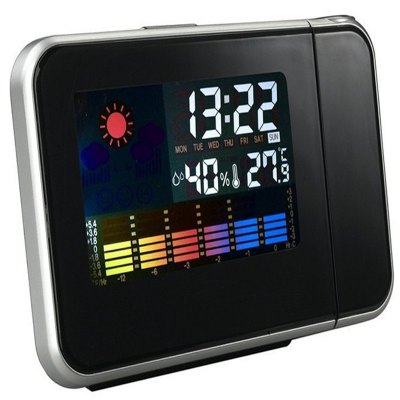 Projection Clock for Weather Forecast