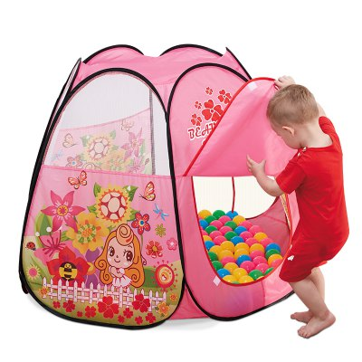 NuKied Children Cartoon Butterfly Pattern Tents