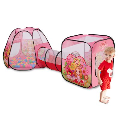 NuKied Children Cartoon Butterfly Pattern Tents 3PCS