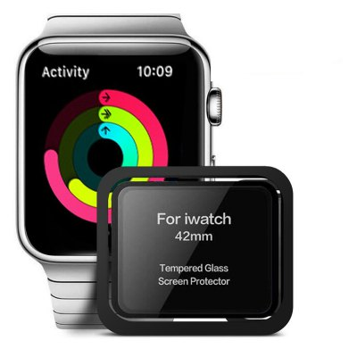 Tempered Glass Screen Protector for Apple Watch Series 3 / 2 / 1 42MM
