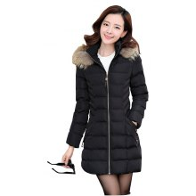 Women's Fashion with Thick Warm Coats