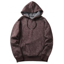 2018 Autumn New Tide Brand High Street Simple Flower Gray Shoulder Hoodies Men Long-Sleeved