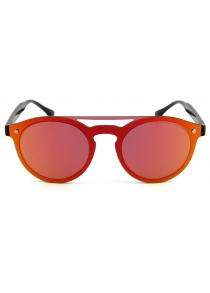 2017 New products gadgets Round Sunglasses Retro Color Film One Lens Color Film Round Sunglasses 7002