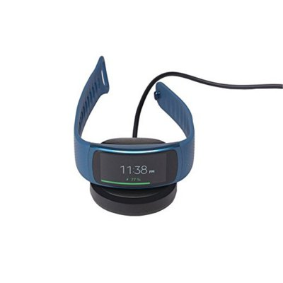 Replace Data Sync Cradle Desktop USB Charging Dock Clip Charger for Samsung Gear Fit2 Smart Watch SM-R360