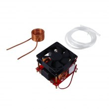 500W ZVS Low Voltage Induction Heating Board Module With Tesla Coil DC 24V-36V
