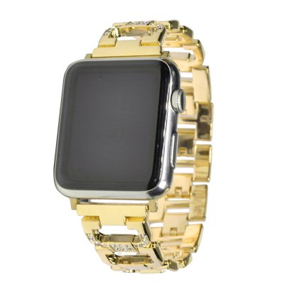 38MM Stainless Steel Strap For Watch Band Diamond Smart Watch Metal Band for iWatch Series 3/2/1