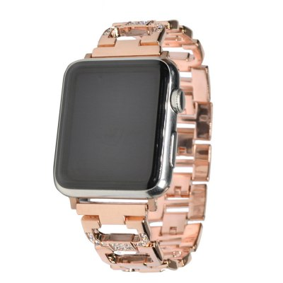 42MM Stainless Steel Strap For Watch Band Diamond Smart Watch Metal Band for iWatch Series 3/2/1