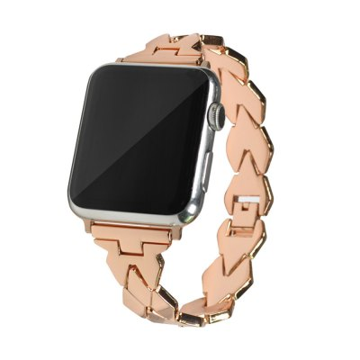 38MM Stainless Steel High Quality Rhombus Design Watch Strap Band For iWatch Series 3/2/1