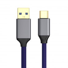 USB 3.0 USB C Type-C Cable with Cotton Material Aluminum Cable
