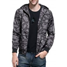 Men 2018 Fall New Hooded Jacket