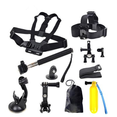 For GoPro Accessories Head Chest Mount Floating Monopod for Xiaomi Yi Action Camera for GoPro Hero 6/5/4/3+/SJCAM/SJ4000