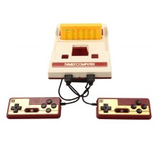 Family TV Game Player RS-35 Classic Retro 30 Anniversary Child Handheld Video Game Console with 132 Different Games