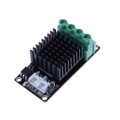 3D Printer Hot Bed Extruder High Power Expansion Board 30A Current Load Heatbed Module Mini MOS Module Motherboard