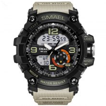 SMAEL 1617 Fashion Multi-function Waterproof LED Electronic Watch Outdoor Sport