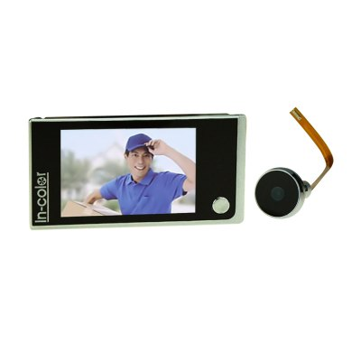 3.5 Inch Single-Button Smart Digital Peephole Camera Door Viewer