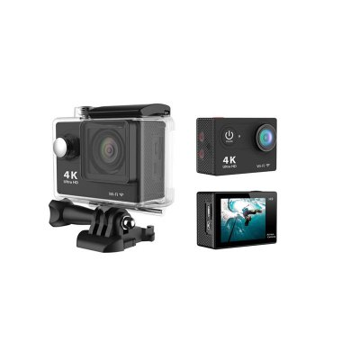 4K Action Camera 12MP WIFI Waterproof 2 Inch LCD Sports 170 Degree Wide-Angle Lens Cam