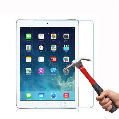 2 Pack 9H Hardnes Screen Protector HD Tempered Glass for iPad Air / Air 2