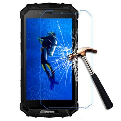 2.5D 9H Tempered Glass Screen Protector Film for DOOGEE S60
