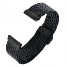 22MM Stainless Steel Watch Band Quick Release Loop Wrist Belt Bracelet for Samsung Gear 2 R380/Neo R381/Live R382