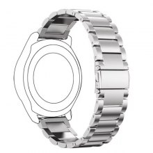 22MM Stainless Steel Metal Replacement Smart Watch Band Bracelet for Samsung Gear 2 R380/Neo R381/Live R382