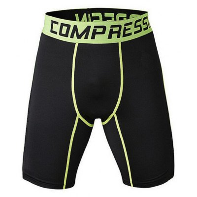 Men's Shorts Running Tight Shorts Quick Dry Anatomic Design Wearable Pants