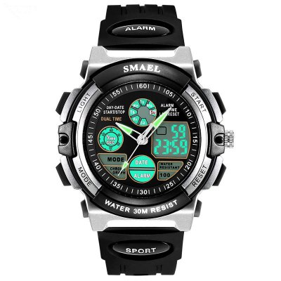 SMAEL SL0508 Multi-Function Smart Waterproof Electronic LED Sport Watch