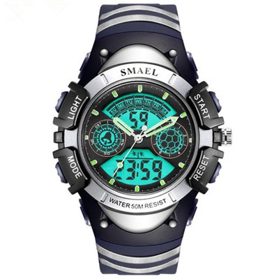 SMAEL SL0616 Fashion Multi-function 5M Waterproof Sport LED Electronic Watch