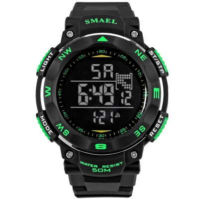 SMAEL SL1235 Multi-function 5M Waterproof Electronic LED Watch for Teenagers Outdoor Sport