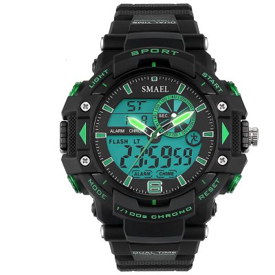 SMAEL SL1379 Multi-Function Waterproof Sport LED Watch