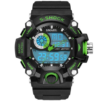 SMAEL SL1385 Multi-Function Waterproof Durable Electronic LED Watch Outdoor Sport