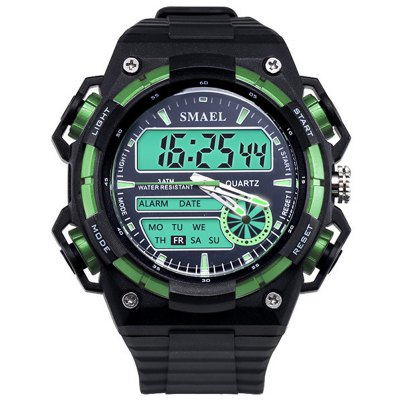 SMAEL SL1438 Multi-Function Waterproof Durable LED Sport Watch